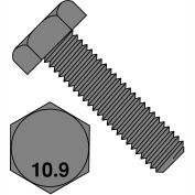 M10X35  Din 933 10.9 Metric Fully Threaded Cap Screw Plain, Pkg of 400