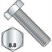 M12X30  Din 933 8 Point 8 Metric Fully Threaded Cap Screw Zinc, Pkg of 300