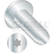 M2.5X5  Din 7500 C E Pan 6 Lobe Recess Thread Rolling Screw Zinc Bake And Wax, Pkg of 1500