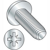 M3-0.5X20  Din 7500 C Metric Type Z Pan Thread Rolling Screw Zinc Bake And Wax, Pkg of 1000