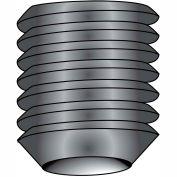 M5-0.8X16  Metric Socket Set Screw Cup Point Imported Plain, Pkg of 100