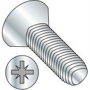 M5-0.8X20  Din 7500 M Metric Type Z Flat Thread Rolling Screw Zinc Bake Wax, Pkg of 500