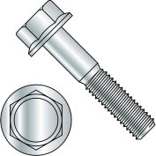 M6-1.0X20  DIN 6921 Class 8 Point 8 Metric Flange Bolt Screw Zinc Rohs, Pkg of 1000