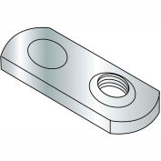 M6X1.0  Metric Weld Nut with One Projections Steel Plain, Pkg of 1000