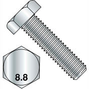M8X25  Din 933 8 Point 8 Metric Fully Threaded Cap Screw Zinc, Pkg of 800