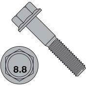M8-1.25X35   DIN 6921 Class 8 Point 8 Metric Flange Bolt Screw  Plain, Pkg of 600