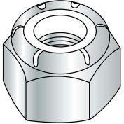 M8 x 1.25 DIN 985 Metric Class 8 Nylon Insert Hex Locknut Zinc - Pkg of 1000