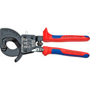 "KNIPEX® 95 31 250 SBA Cable Cutters-Ratcheting Type-Comfort Grip 10"" OAL"