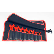 KNIPEX® 98 99 13 S5 8 Pc Open End Wrench Set-Metric-1,000V Insulated