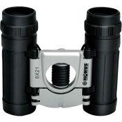 Konus 2016 Basic 12X32mm Compact Binoculars, Central Focus, Ruby Coating, Black/Silver