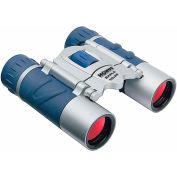 Konus 2024 Explo 10x25mm Binoculars, Central Focus, Ruby Coating, Blue/Silver