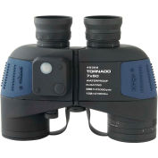 Konus 2325 Tornado 7x50mm Binoculars, Waterproof, Compass, Individual Focus, Black/Blue