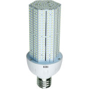 Kobi Electric K3N4 40-watt (150-Watt HID) 120-277v Corn Light LED 6000K Cool White, Non-Dimmable