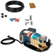 Koolfog KF100-N 100' UV Protected Nylon Misting Kit System, W/120 Volt,1 HP G2-40 Pump