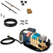 Koolfog KF80 80' Stainless Steel Misting Kit System, W/120 Volt,1 HP G2-40 Pump
