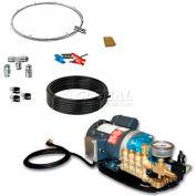 """Koolfog KMF-5-30 G2-40 5 Misting Fan Kit, 30"""" W/Gibson G2-40 High-Pressure Pump, 120V"""
