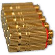 Koolfog KMN60Atomization Nozzle W/Anti-Drip Body, Brass/SS, Cleanable, .006 Orifice, 10 Pack