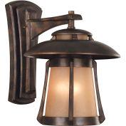 "Kenroy Lighting, Laguna Lg. Wall Lantern, 03196, Golden Bronze Finish, Metal, 17""L"