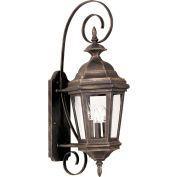 "Kenroy Lighting, Estate Medium Wall Lantern, 16313AP, Antique Patina Finish, Aluminum, 11""L"