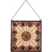 "Kenroy Lighting - Floret Panel, 32374BL, Multicolored Finish, Tiffany Glass, Metal, 24""L"