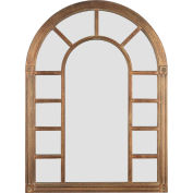 """Kenroy Lighting, Cathedral Wall Mirror, 60014, Bronze Finish, Wood, 1""""L"""