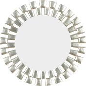 "Kenroy Lighting, Gilbert Wall Mirror, 60019, Silver Finish, Polyurethane, 1""L"