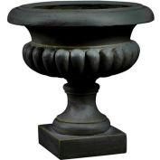 "Kenroy Lighting - Short Urn Planter-Garden, 60059, Bronze Finish, Magnesium Oxide, 20.5""L"