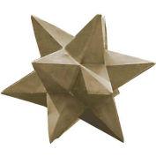 "Kenroy Lighting - Dimensional Star - Garden, 60061, Stone Finish, Painted MGO, 19""L"