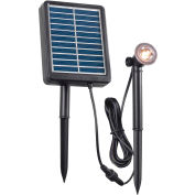 "Kenroy Lighting, Solar Spotlight, 60501, 1W, Black, Plastic, 6""L"
