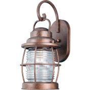 "Kenroy Lighting, Beacon Medium Wall Lantern, 90952GC, Gilded Copper Finish, Metal, 8""L"