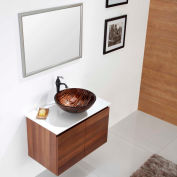 Kraus GV-398-19mm Gaia Glass Vessel Sink