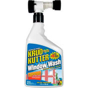 Krud Kutter Window Wash, 32 oz. Hose End Spray Bottle - WW32H4 - Pkg Qty 4