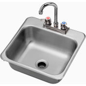 "Krowne HS-1515 - 15"" x 15"" Drop-In Hand Sink"