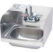 """Krowne HS-26L - 16"""" Hand Sink with Side Splashes Compliant"""
