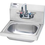 "Krowne HS-2L - 16"" Wide Hand Sink Compliant"