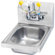 """Krowne HS-35 - Space Saver Hand Sink with Soap & Towel Dispenser Compliant, 12"""" Wide"""