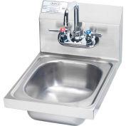 "Krowne HS-9L - 12"" Wide Space Saver Hand Sink Compliant"