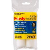 "Purdy® 4-1/2"" X 1/4"" Jumbo White Dove Mini Roller 2-Pk 140624010 - Pkg Qty 6"