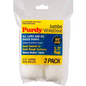 "Purdy® 4-1/2"" X 1/2"" Jumbo White Dove Mini Roller 2-Pk 140624013 - Pkg Qty 6"