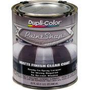 Dupli-Color Paint Shop Finish System Clear Top Coat Matte Finish Clear Coat 32 Oz. Quart - BSP307 - Pkg Qty 2