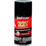 Dupli-Color® Exact-Match Automotive Paint Universal Gloss Black 8 Oz. Aerosol - BUN0100 - Pkg Qty 6