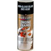 Dupli-Color® Engine Enamel With Ceramic Ford Semi-Gloss Black 12 Oz. Aerosol - DE1635 - Pkg Qty 6