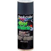 Dupli-Color® Vinyl And Fabric Coating Charcoal Gray 11 Oz. Aerosol - HVP111 - Pkg Qty 6