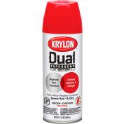 Krylon Dual Paint & Primer Aerosol 12 Oz. Gloss Banner Red - K08803001 - Pkg Qty 6
