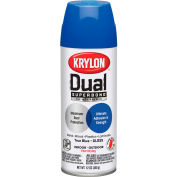 Krylon Dual Paint & Primer Aerosol 12 Oz. Gloss True Blue - K08820001 - Pkg Qty 6