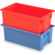 "Schaefer Stack & Nest Container KS10 - 29""L x 17""W x 10""H - Blue"