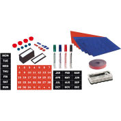 MasterVision Dry-Erase Board Magnetic Accessory Kit