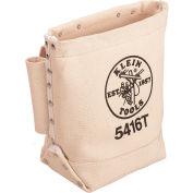 Klein Tools® Canvas Bull Pin/Bolt Bag, Tunnel Loop 5416T