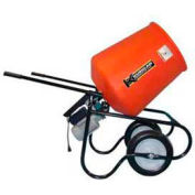 Kushlan Products 350DDS Unassembled Direct Drive Cement Mixer w/ Stand