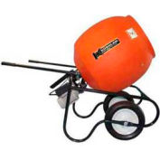 Kushlan Products 600DD-S Unassembled Direct Drive Cement Mixer w/ Stand